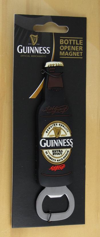 Guinness Bottle Fridge Magnet Bottle Opener Time For A