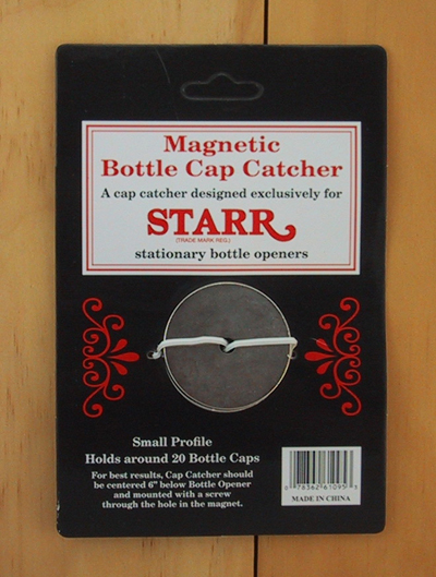 Magnetic Cap Catcher For Wall Mount Bottle Openers Starr